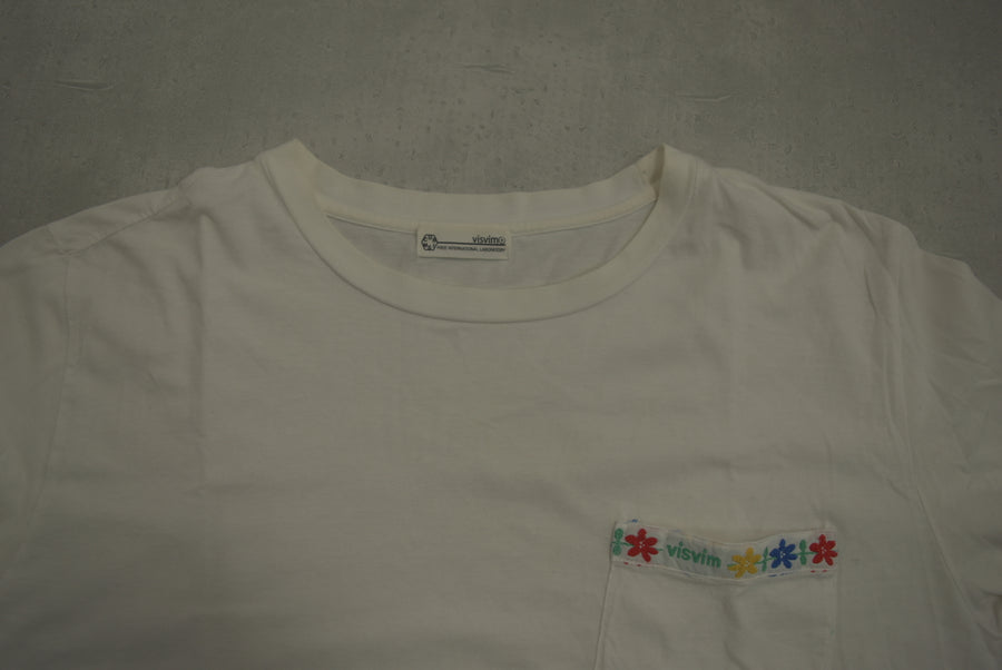 visvim / Flower Pocket T-shirt