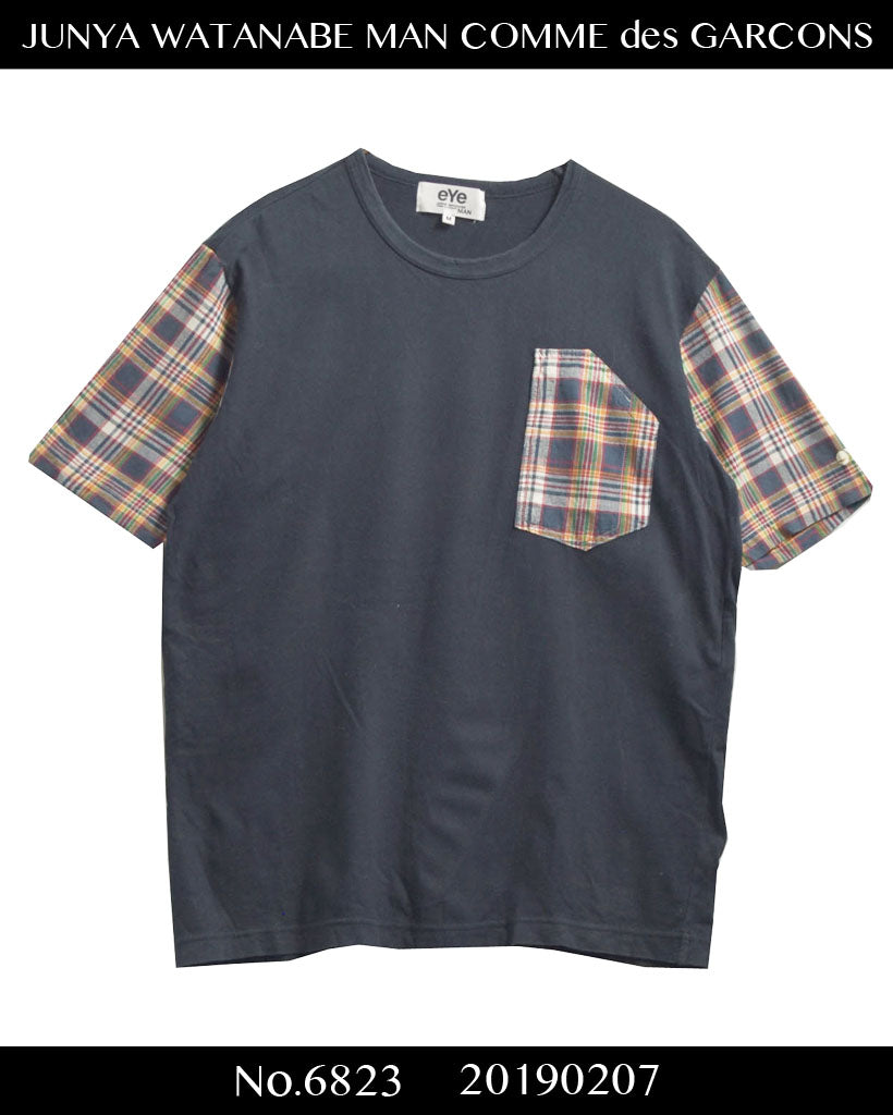 JUNYA WATANABE MAN COMME des GARCONS / Check Bicolor Pocket Cutsew