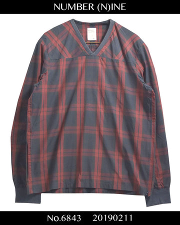 NUMBER(N)INE / 【Heavy Mechanic】Pullover Check Shirt