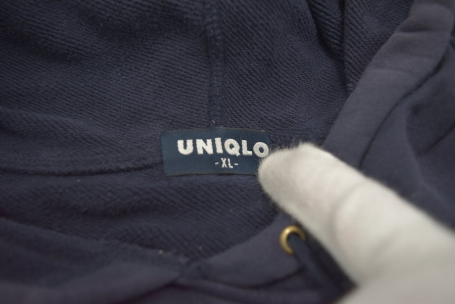 UNIQLO / OLD UNIQLO Navy Hoodie