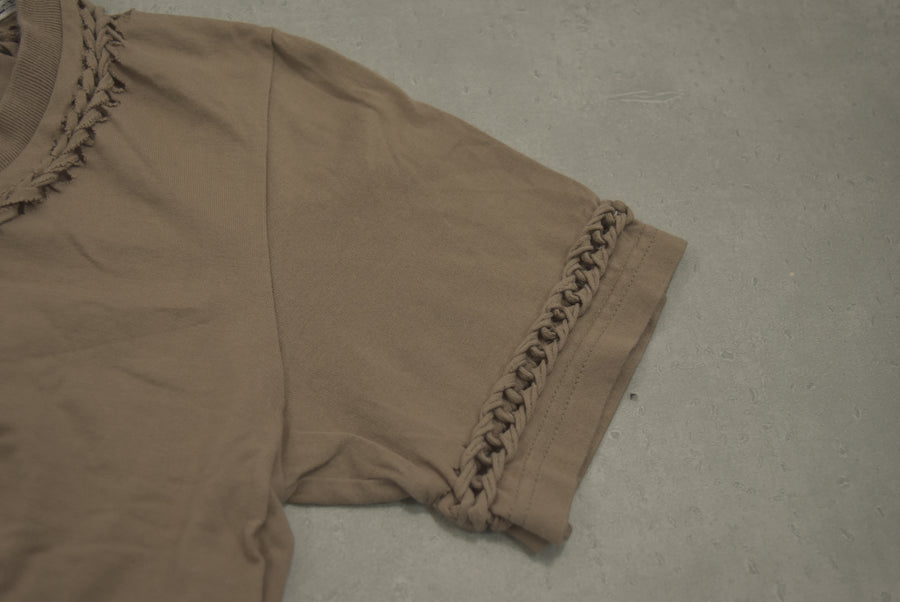 NUMBER(N)INE / Brown Braid Cutsew