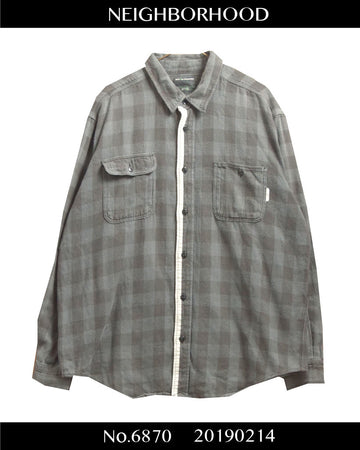 NEIGHBORHOOD / Piping Nel Shirt