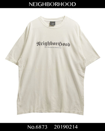 NEIGHBORHOOD / Logo Graphic Cutsew