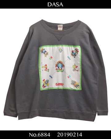 DASA / Japanese Retro Fancy Bandana Patchwork vintage Sweat