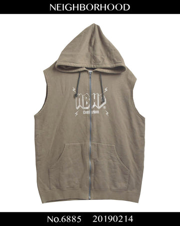 NEIGHBORHOOD / Logo Sleeveless Hoodie