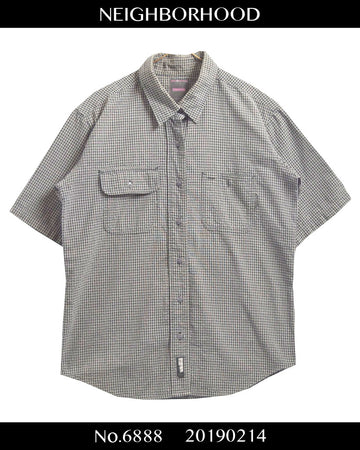 NEIGHBORHOOD / Check Short Sleeve Shirt