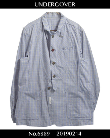 UNDERCOVER / F**k Tailored Shirt Jacket