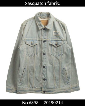 Sasquatchfabrix. / Destroy Denim Jacket