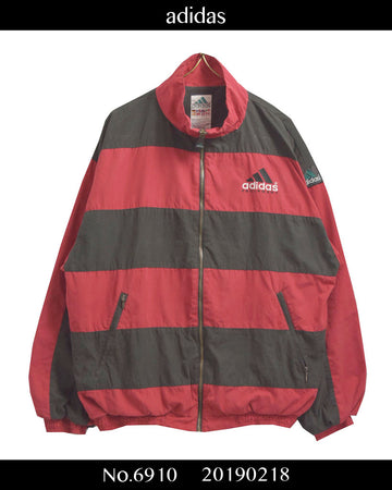 adidas / 90s EQUIPMENT Line Border Jacket