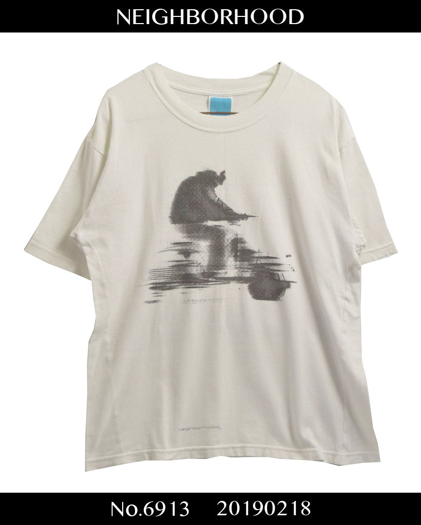 NEIGHBORHOOD / Motor Bike Graphic T-shirt
