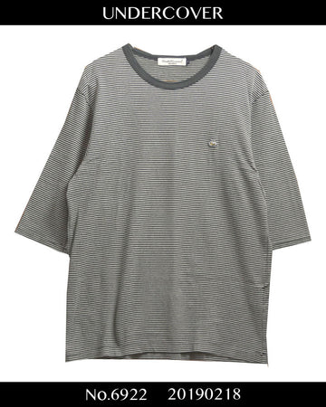 UNDERCOVER / One Point Border Cutsew