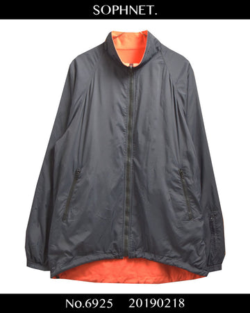 SOPHNET. / 【Oranje】 Reversible Nylon Fleece Jacket