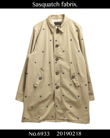 Sasquatchfabrix. / Logo Embroidery  Coat