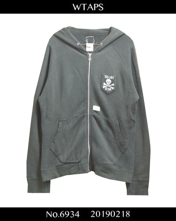 WTAPS / Black Patch Hoodie