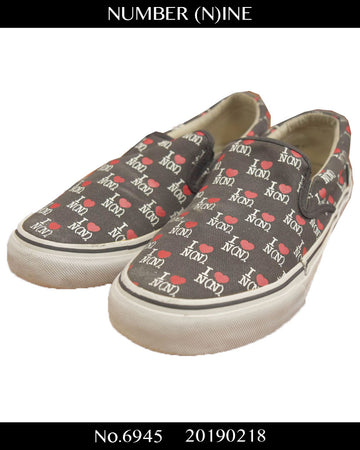 NUMBER(N)INE / I♥GOTHAM Slip-on Sneaker