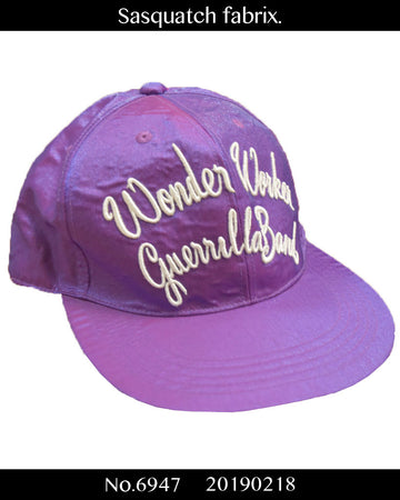 Sasquatchfabrix. / Purple Satin Baseball Cap