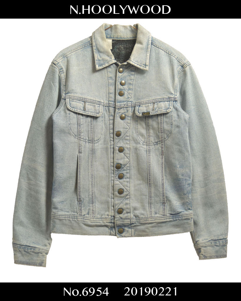 N.hoolywood / X Lee meteor denim jacket