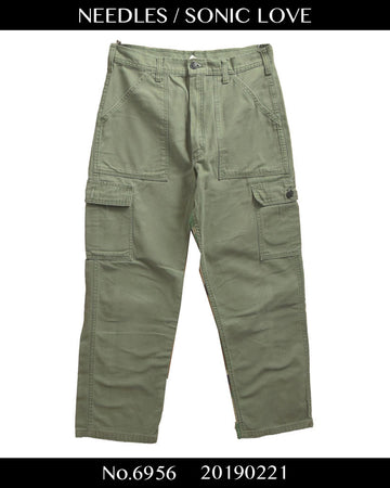 NEEDLES / Rebuild Camo Cargo Pants