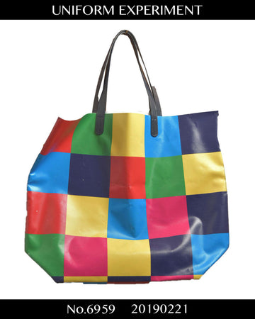 UNIFORM EXPERIMENT / Multicolor tote bag