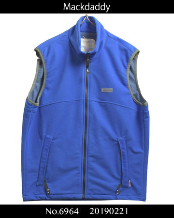 MACKDADDY / Blue fleece vest