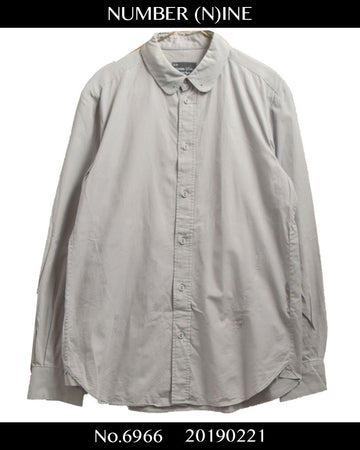 NUMBER(N)INE / Flat color dress shirt