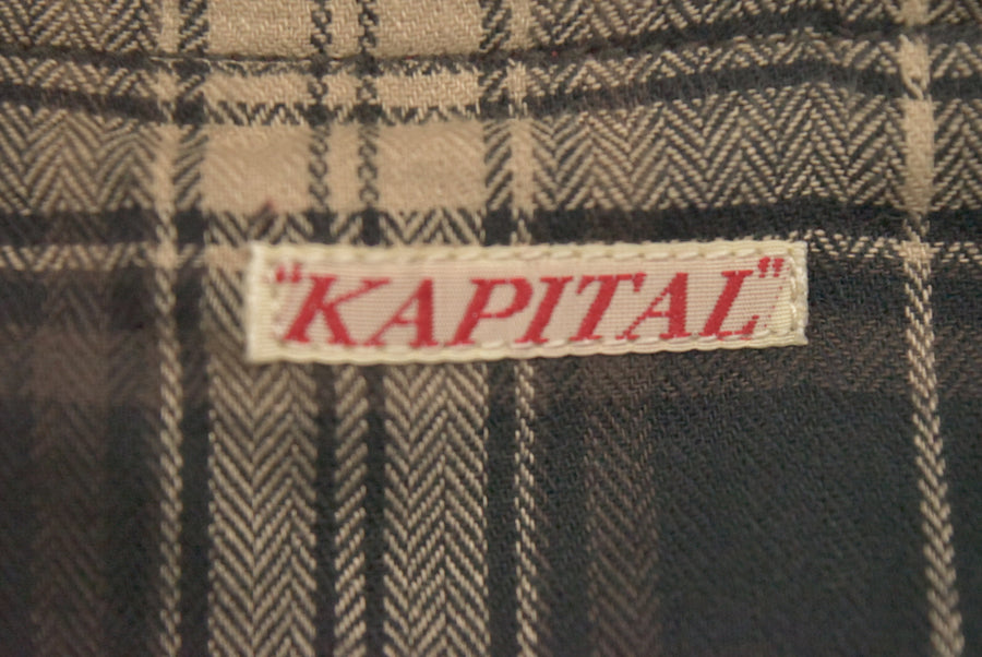 KAPITAL / Oiled Coating Work Jacket