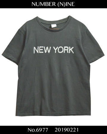 NUMBER(N)INE / New York Anniversary T-shirt