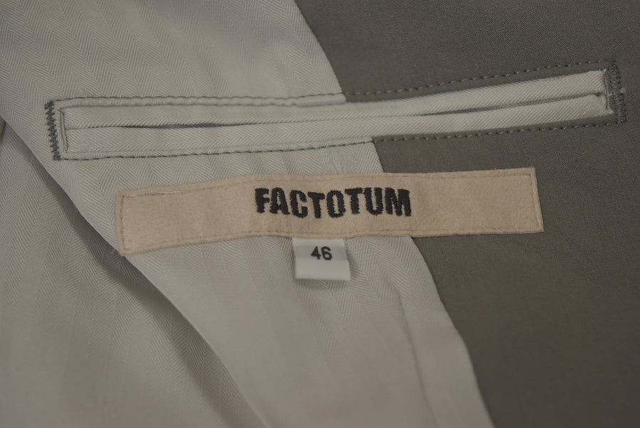 FACTOTUM / Gray tailored jacket