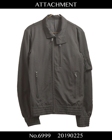 ATTACHMENT / Military Riders Blouson