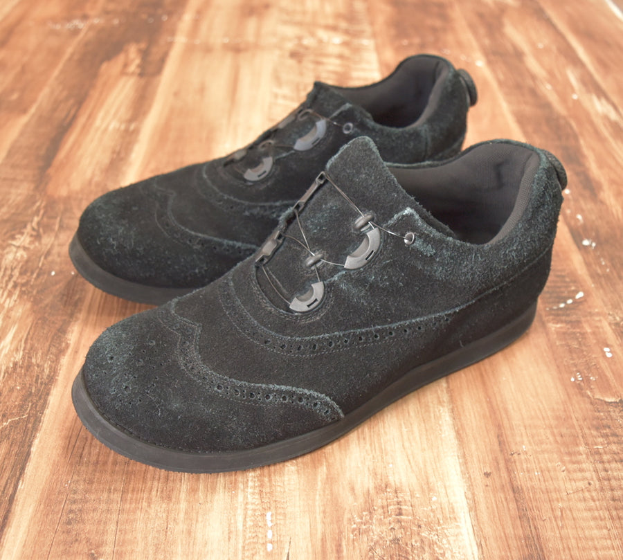 SPECTUS SHOE Co. / Black Suede Shoes