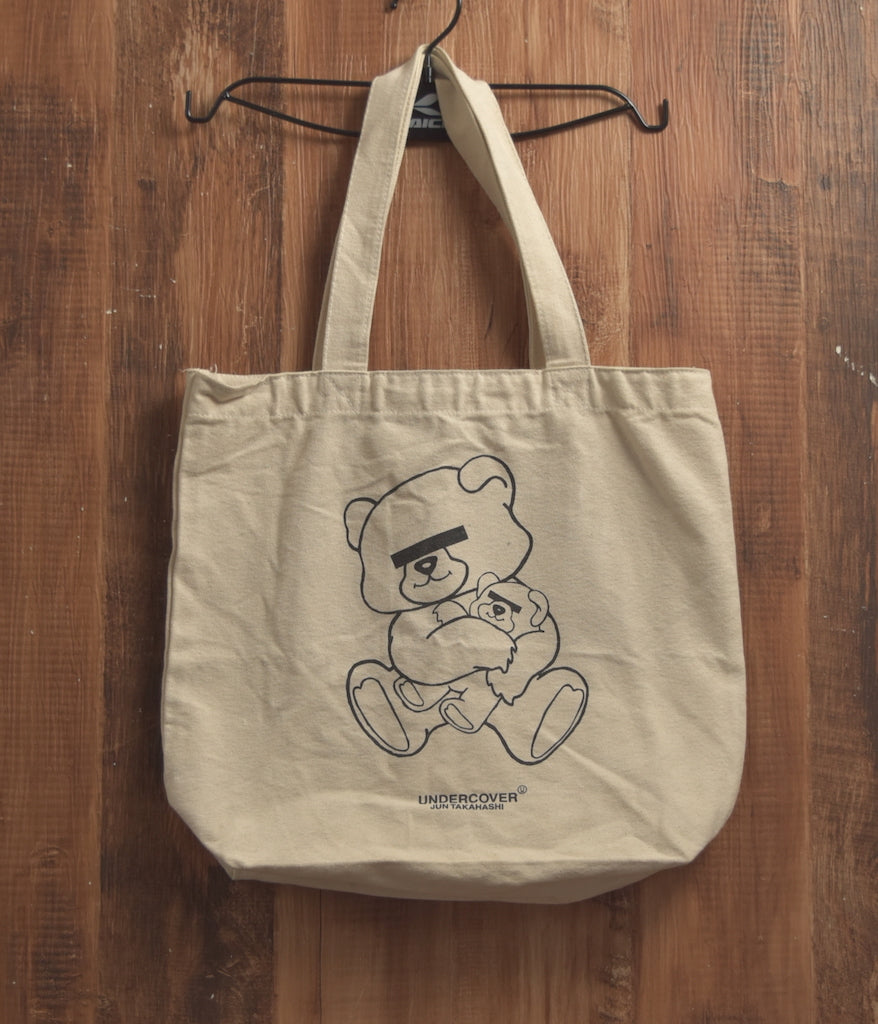 UNDERCOVER / Bear Graphic Tote Bag