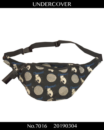 UNDERCOVER / 《T》 06SS Chuuut! Graphic Waist Bag with ashtray Key Holder