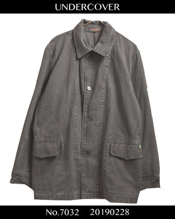 UNDERCOVER / 《Chotic Discord》 Coverall Jacket
