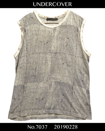 UNDERCOVER / SCAB Sleeveless Shirt