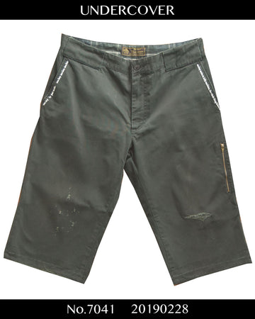 UNDERCOVER / 《Neo Boy》 09SS Damaged Short Pants