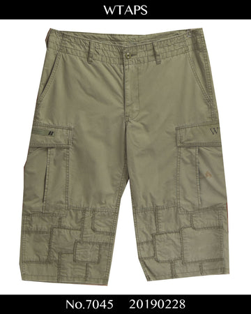 WTAPS / 《Jungle Chopped》 Patchwork Short Pants