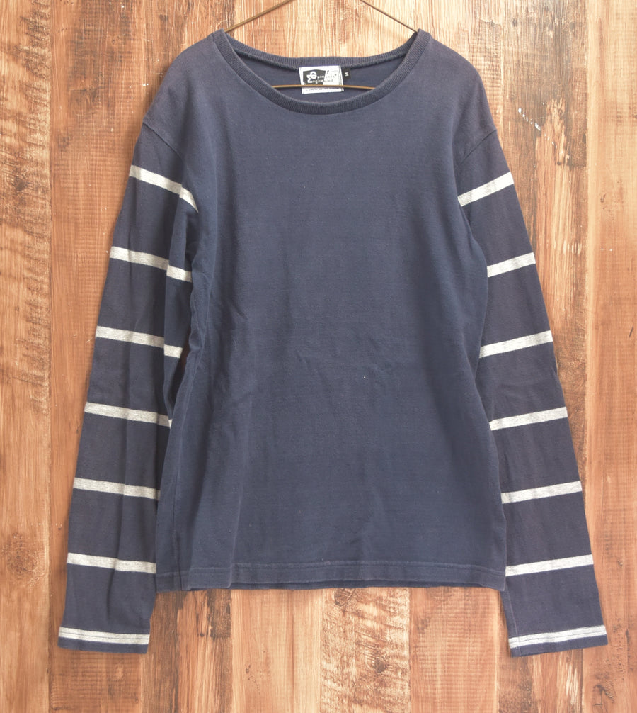 engineered garments / Border Sleeve Cutsew