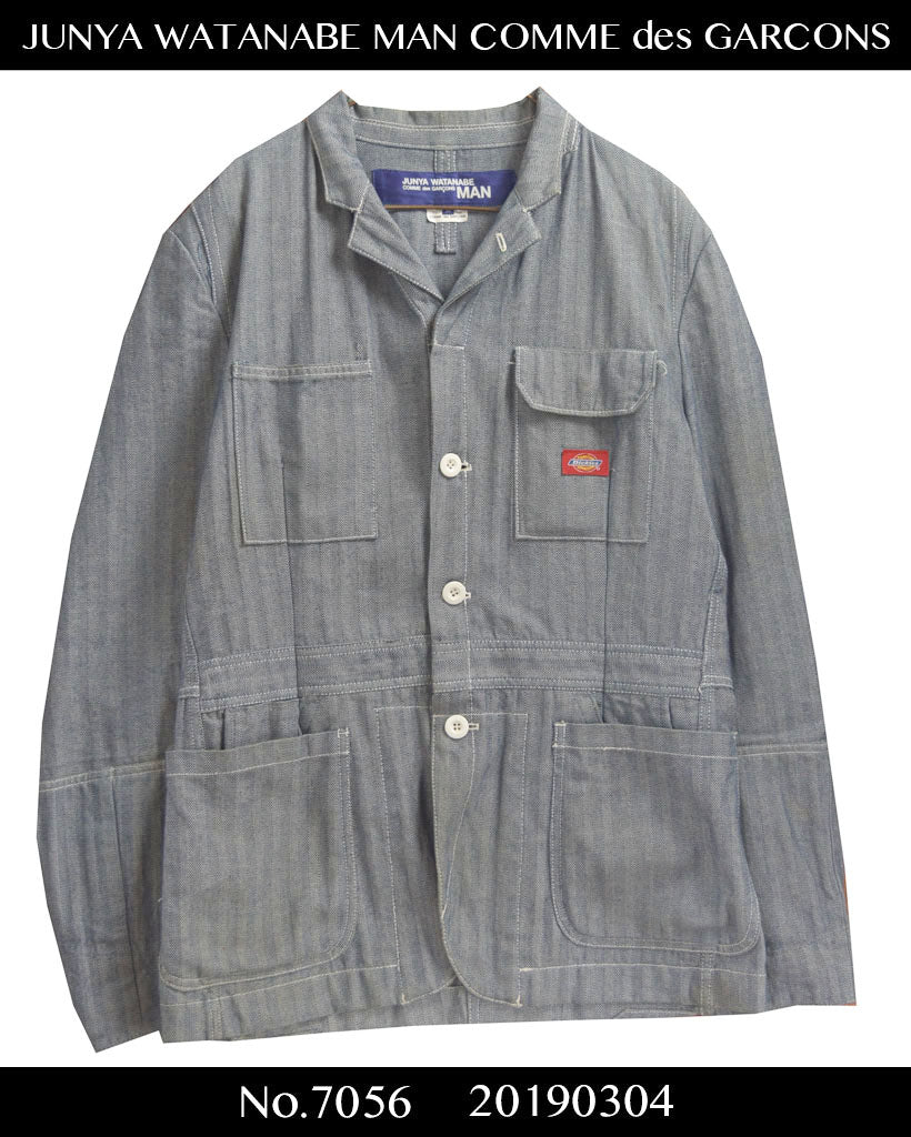 JUNYA WATANABE MAN COMME des GARCONS / × DICKIES Stryped Tailored Work Jacket