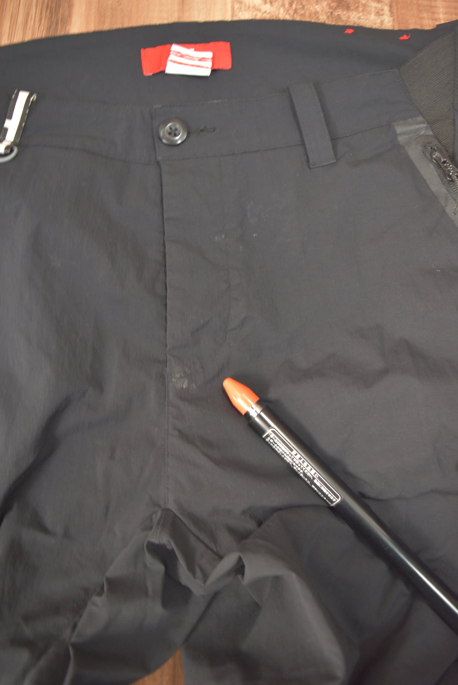 NIKE / Black Nylon Tech Pants