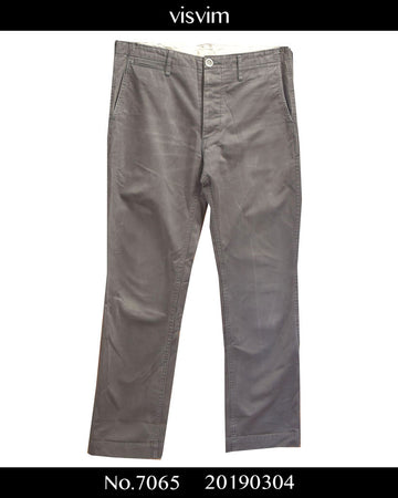 visvim / Grey Cotton Pants