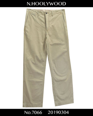 N.hoolywood / Beigh Chino Pants