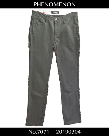 PHENOMENON / Black Pleat Denim Pants