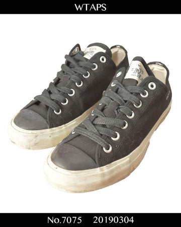 WTAPS / Black Camvus Low-cut Sneaker