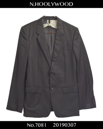 N.hoolywood / Black Compact Tailored Jacket
