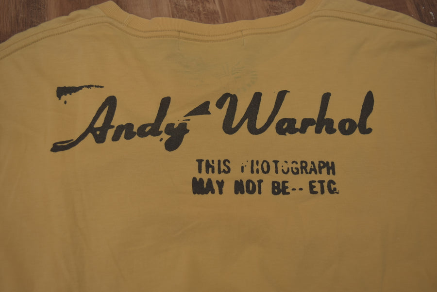 HYSTERIC GLAMOUR / × ANDY WARHOL Lettered Cutsew