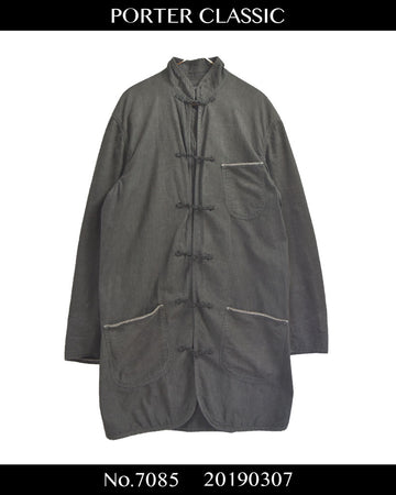PORTER CLASSIC / China Shirt Jacket Coat