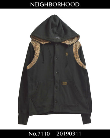 NEIGHBORHOOD / Leopard Hoodie Jacket