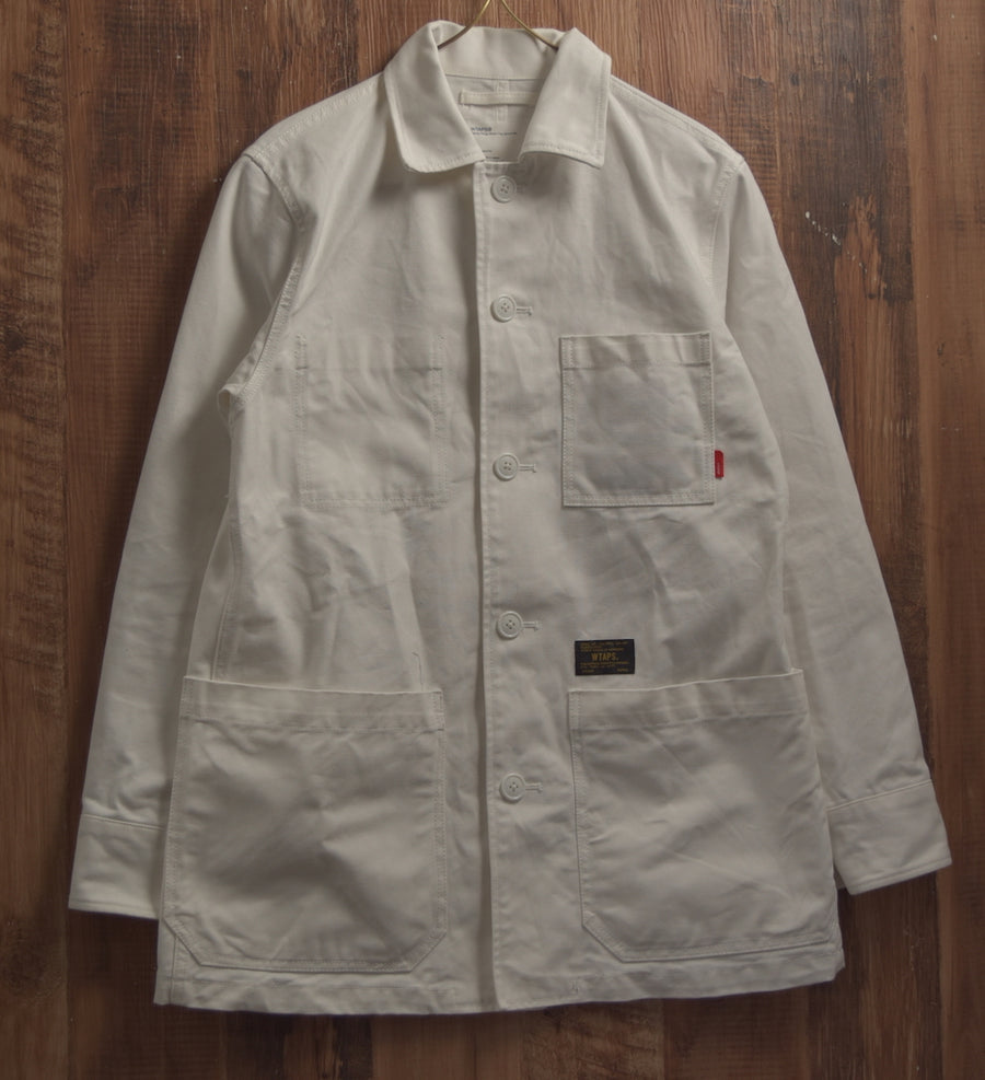 WTAPS / White Shop Coat