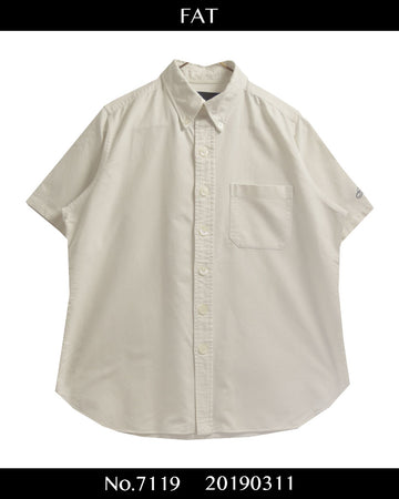 FAT / Oxford Short Sleeve SHirt