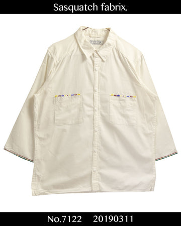 Sasquatchfabrix. / Three-quarter Length Shirt
